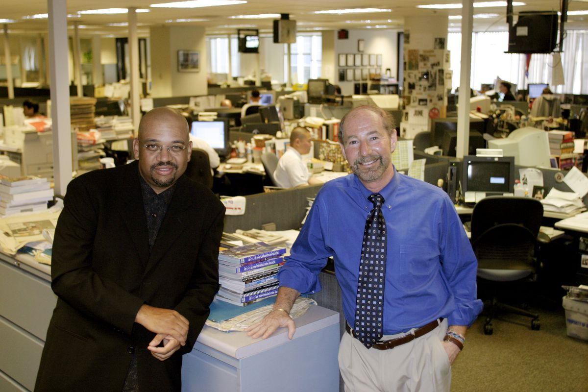 SLUG-PH/WILBON&KORNHEISER—DATE-06/24/2004—LOCATION—Washington Post Newsroom—PHOTOGRAPHER-MARVIN