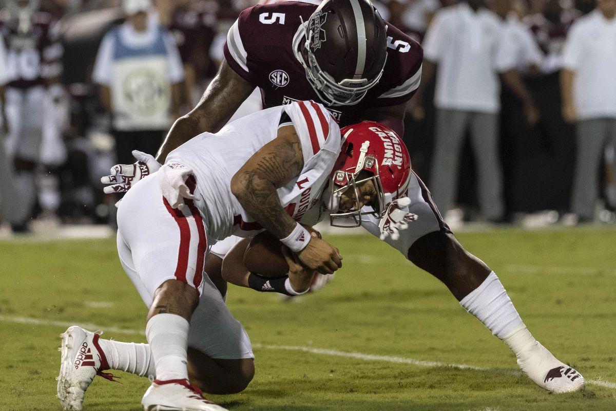 NCAA Football: UL Lafayette at Mississippi State