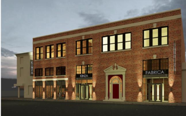 rendering of a restaurant exterior