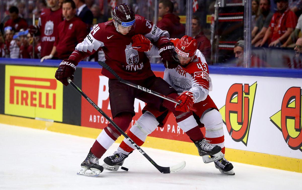 Latvia v Denmark - 2018 IIHF Ice Hockey World Championship
