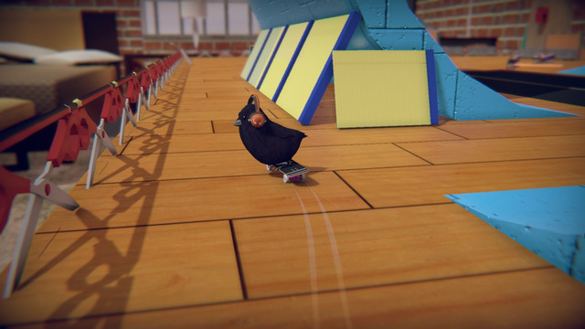 Skatebird is the feel-good success story of E3