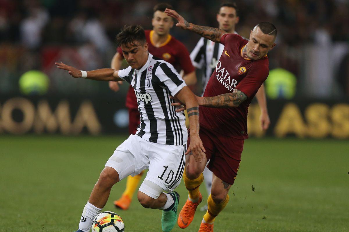 Landmarks Of Turin Awards Roma Vs Juventus Edition Black