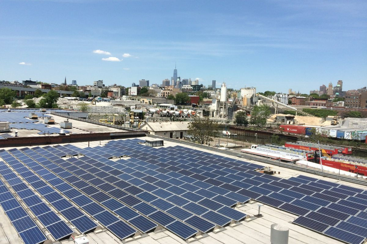 Solar Powers Future May Be On These Brooklyn Rooftops Curbed Panel Wiring Diagram Installing Panels Installation In