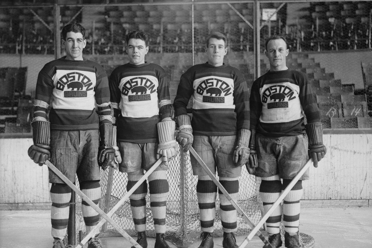 Defense Men of Boston Bruins