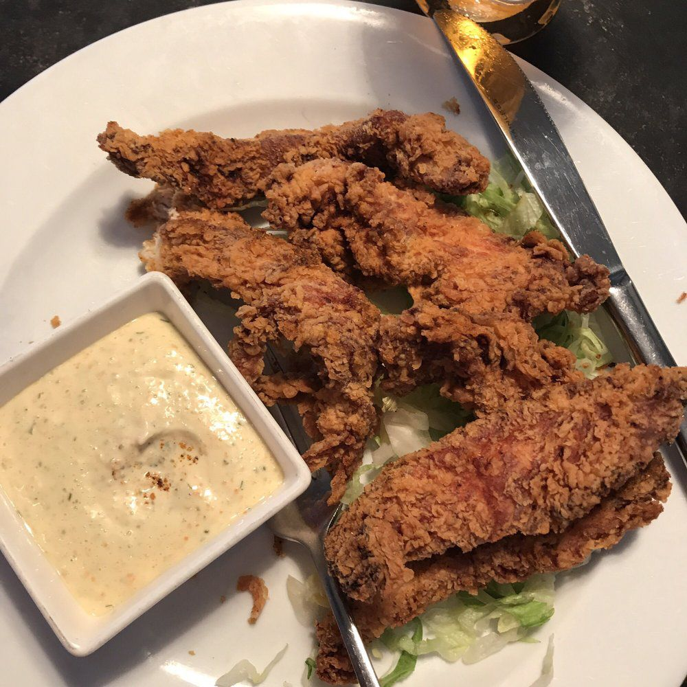 """<span data-author=""""3002112"""">Old Bay chicken tenders at Dorlan's Tavern</span>"""