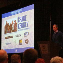 Crane Kenney at the business operations session