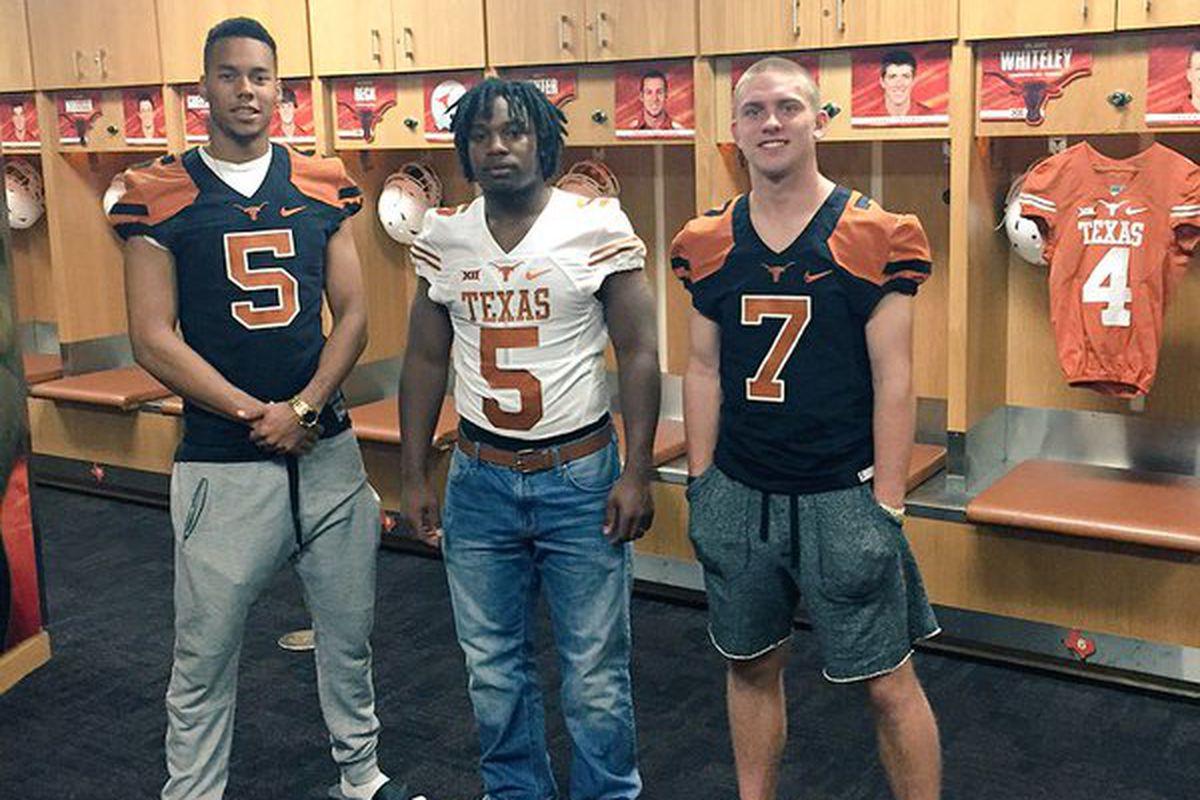 2016 commits Collin Johnson, Demarco Boyd, and Shane Buechele
