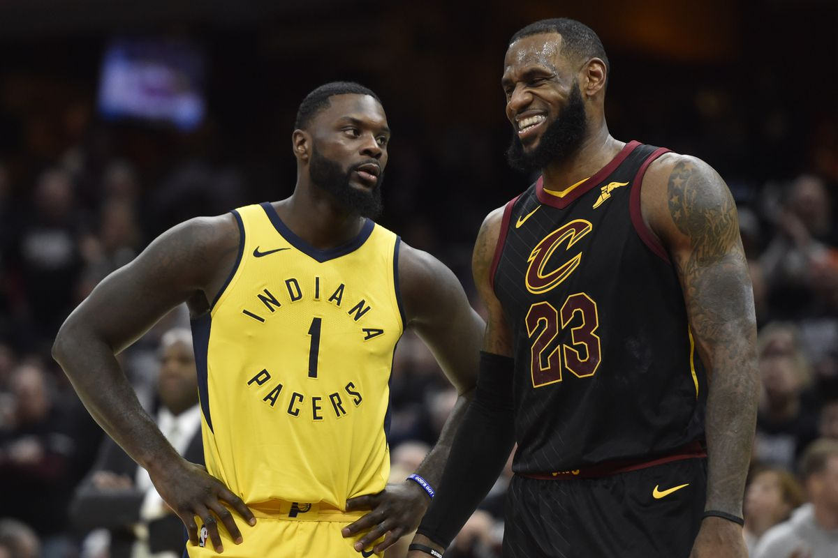 Lance Stephenson and LeBron James are teammates now. WTF - SBNation.com