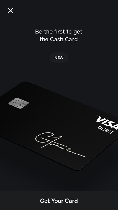 Heres how to order squares new prepaid card the verge more on that below but heres what the process is like for requesting a card in the app stopboris Image collections