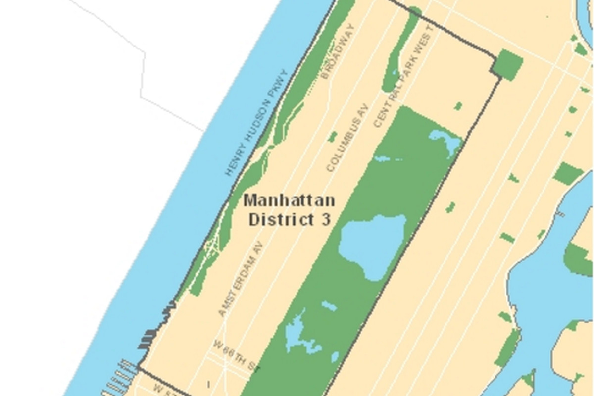 District 3 includes the Upper West Side and parts of Harlem.