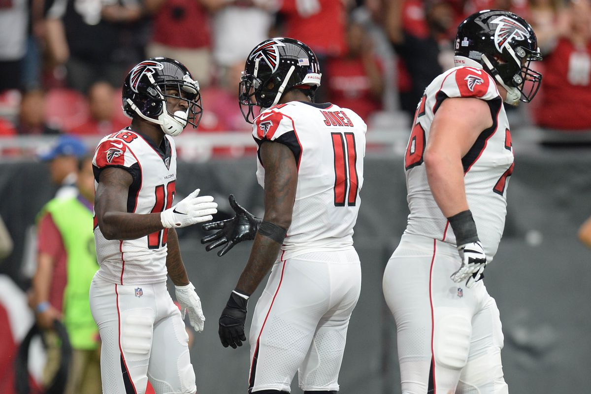 Julio Jones Injury Update How To Handle Falcons Wr Calvin Ridley Vs Rams In Week 7 Fantasy Football Draftkings Nation