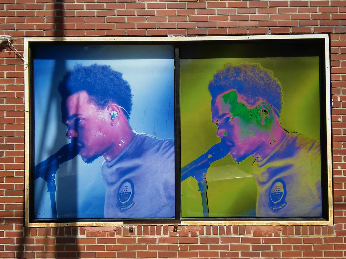 Chance the Rapper mural