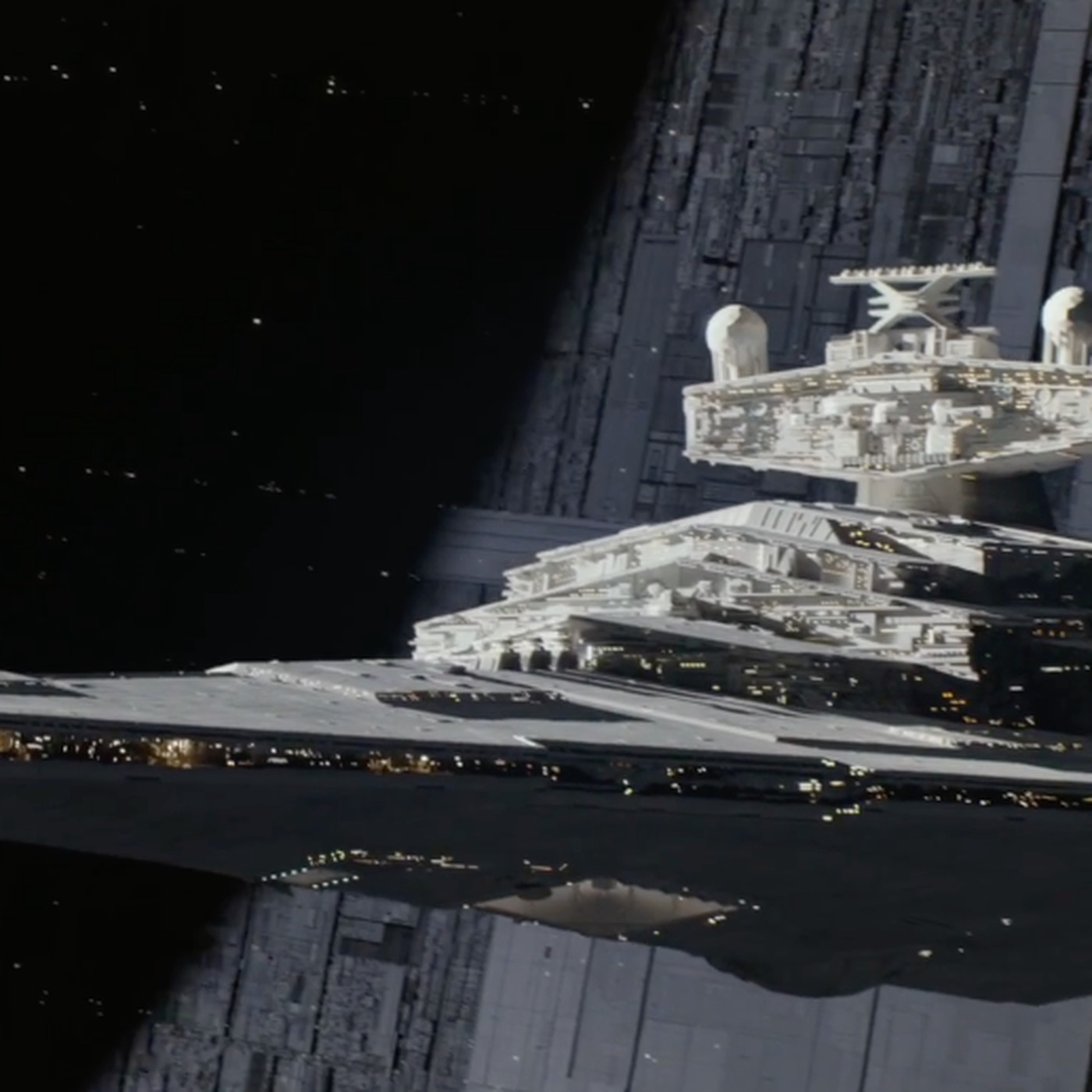 Why The Star Destroyer Looks Different In The Rogue One A Star