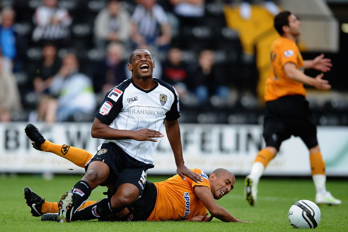 NOTTINGHAM, ENGLAND - JULY 23: Karl Henry, shown in his natural habitat.  (Photo by Laurence Griffiths/Getty Images)