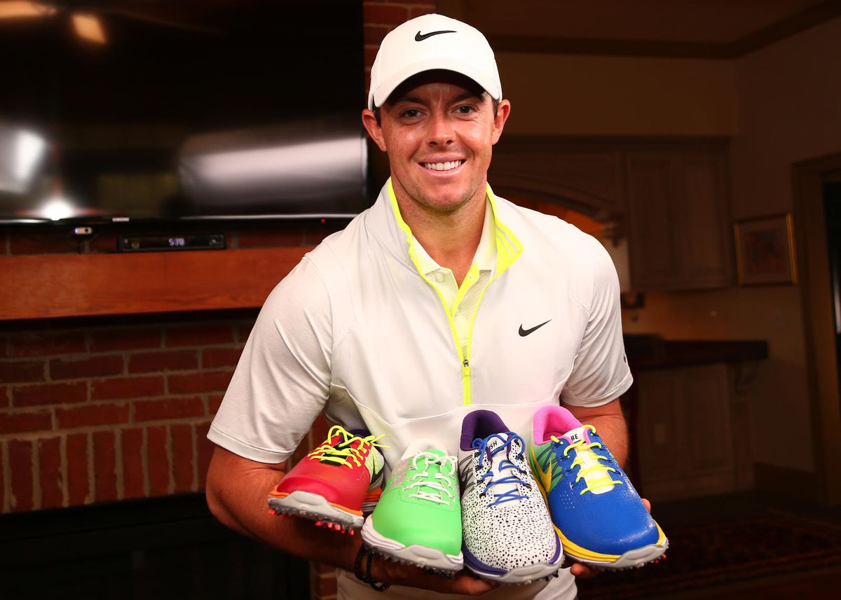 4c409d2526 Rory McIlroy to wear colorful Nike golf shoes designed by kids impacted by  cancer