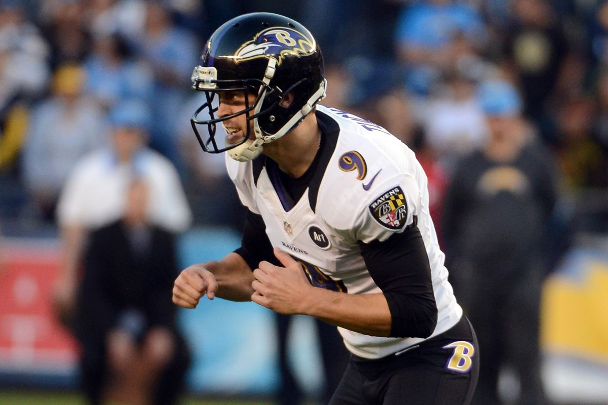 official photos ba9a9 0852e Super Bowl 2013: Ravens rookie kicker Justin Tucker is no ...