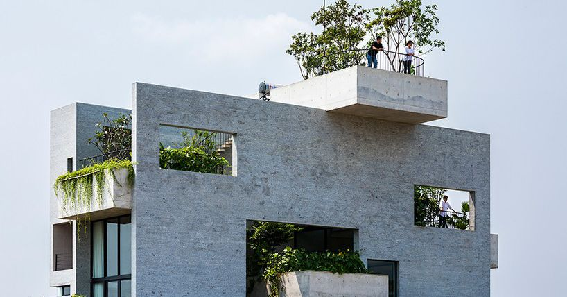 10 Concrete Homes We Loved In 2017 Curbed