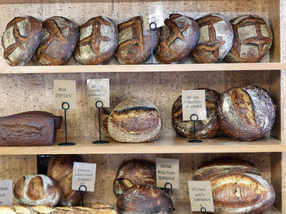 Breads at Bourke Street