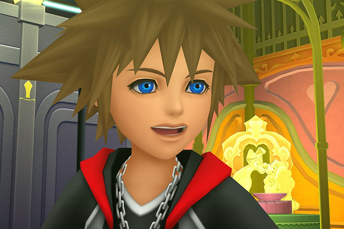 kingdom hearts next crossover is with world of final fantasy polygon