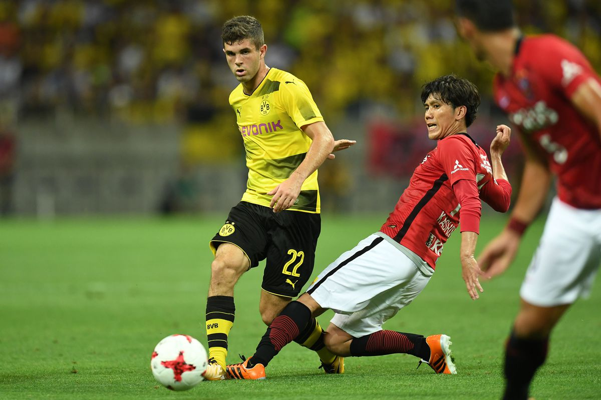 Pulisic sets up two goals in Borussia Dortmund s preseason win vs
