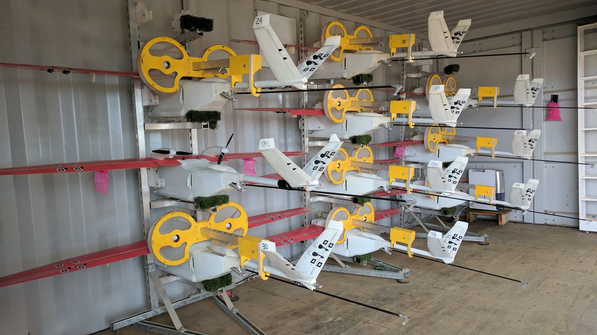 Blood Delivering Drone Company Zipline Readies For Launch In