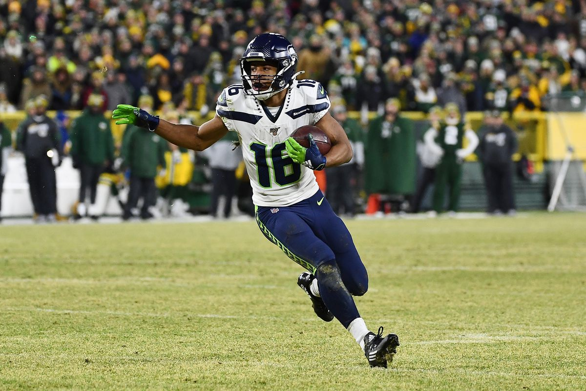 Tyler Lockett stepped up in his first year as Seahawks' top receiver