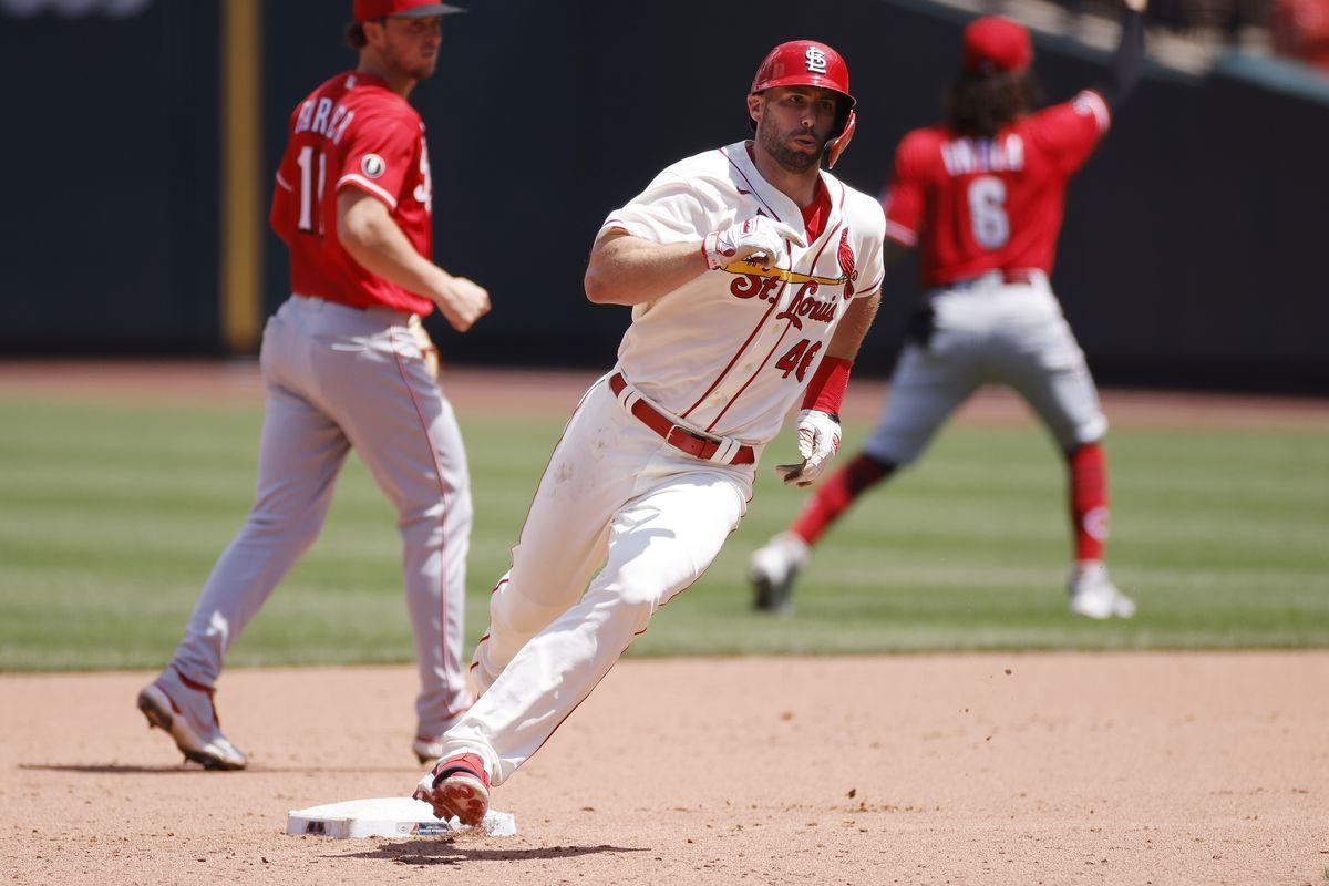 MLB: JUN 05 Reds at Cardinals