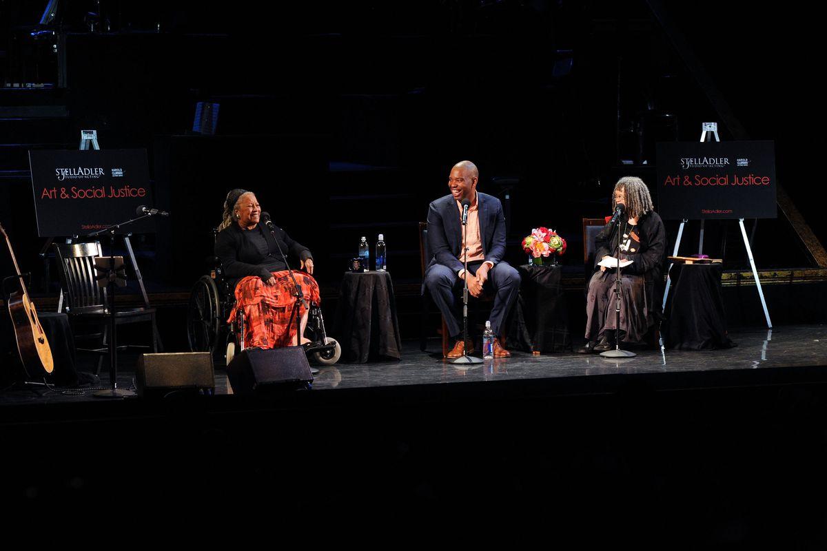 Toni Morrison, Ta-Nehisi Coates, Sonia Sanchez