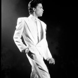 ...and wore the hell out of a white suit the same day in London.