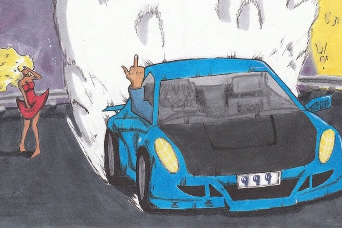Juice WRLD's 'Goodbye & Good Riddance' artwork