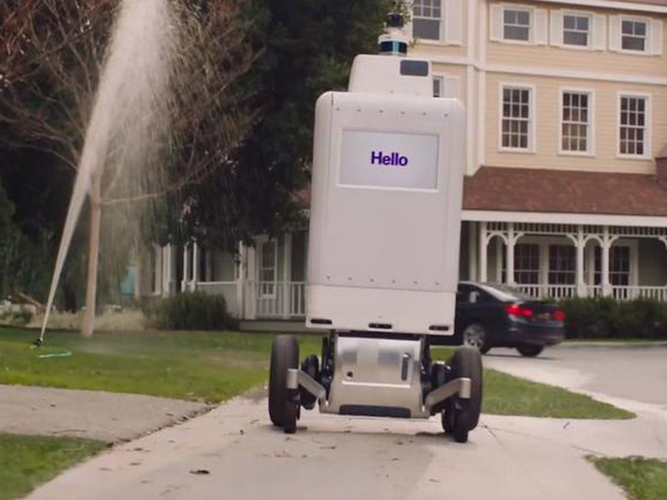 FedEx to test its own delivery bot later this year