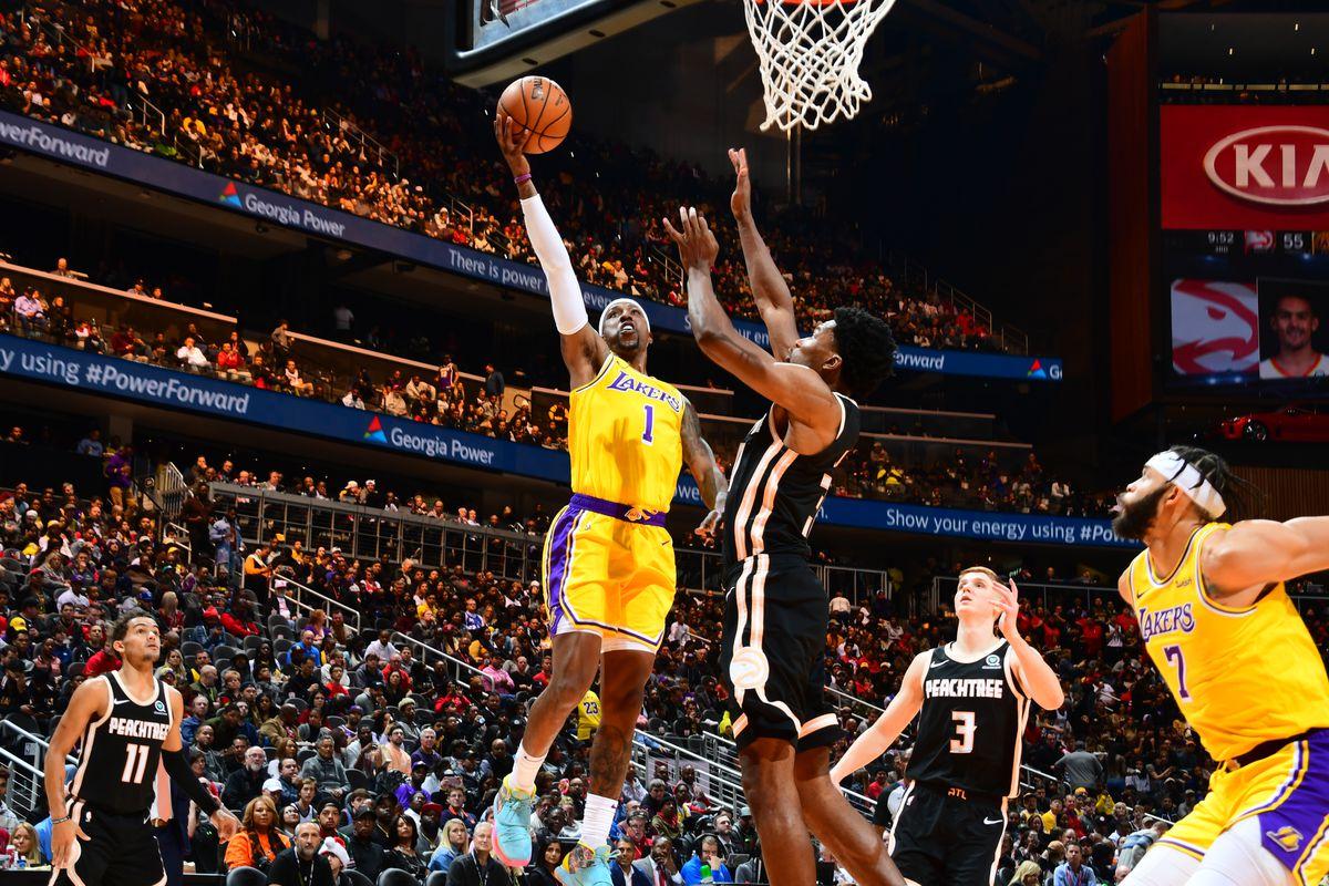 Atlanta Hawks Drop Close Fought Contest To Lakers 101 96