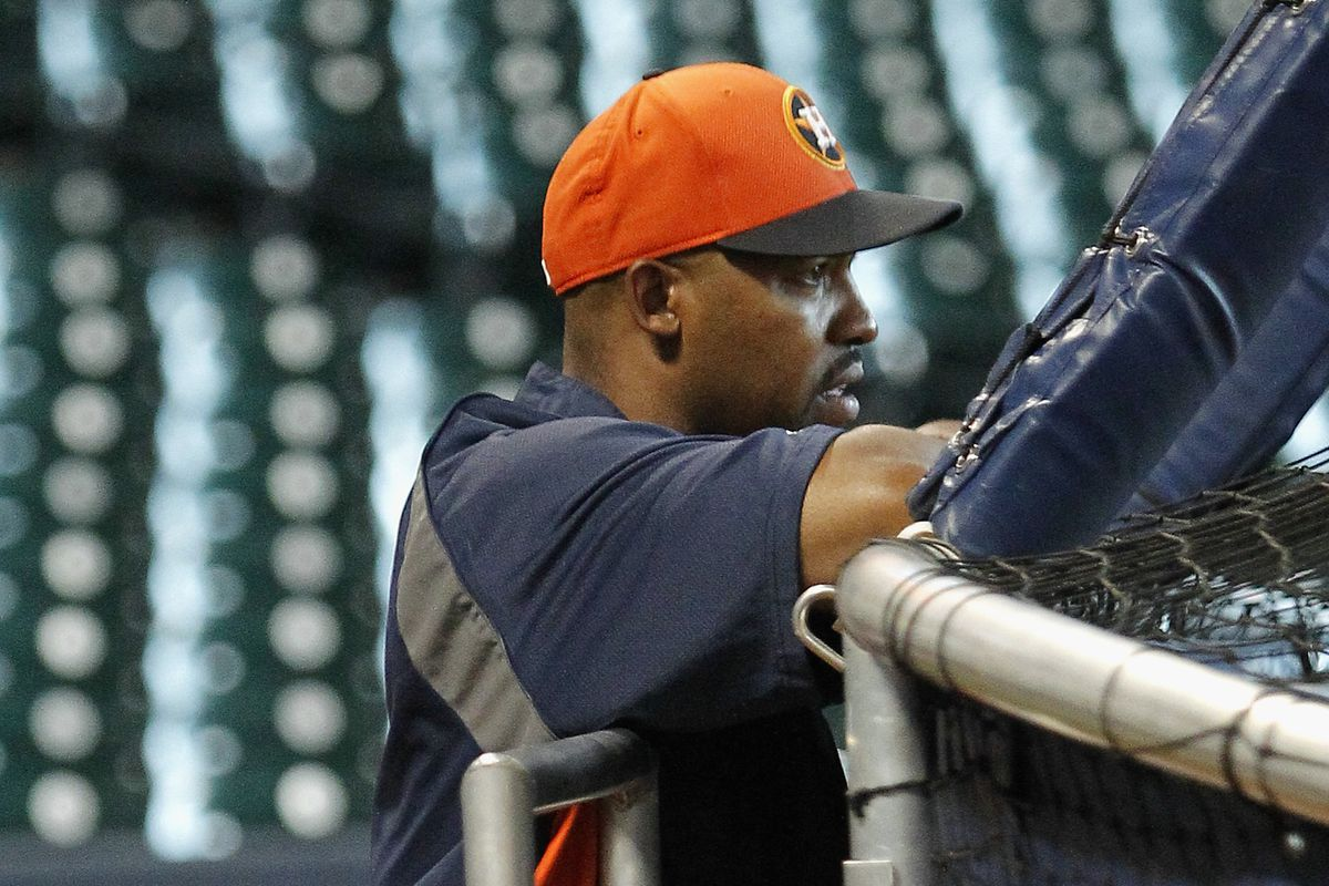 Astros manager Bob Porter thinks about the future