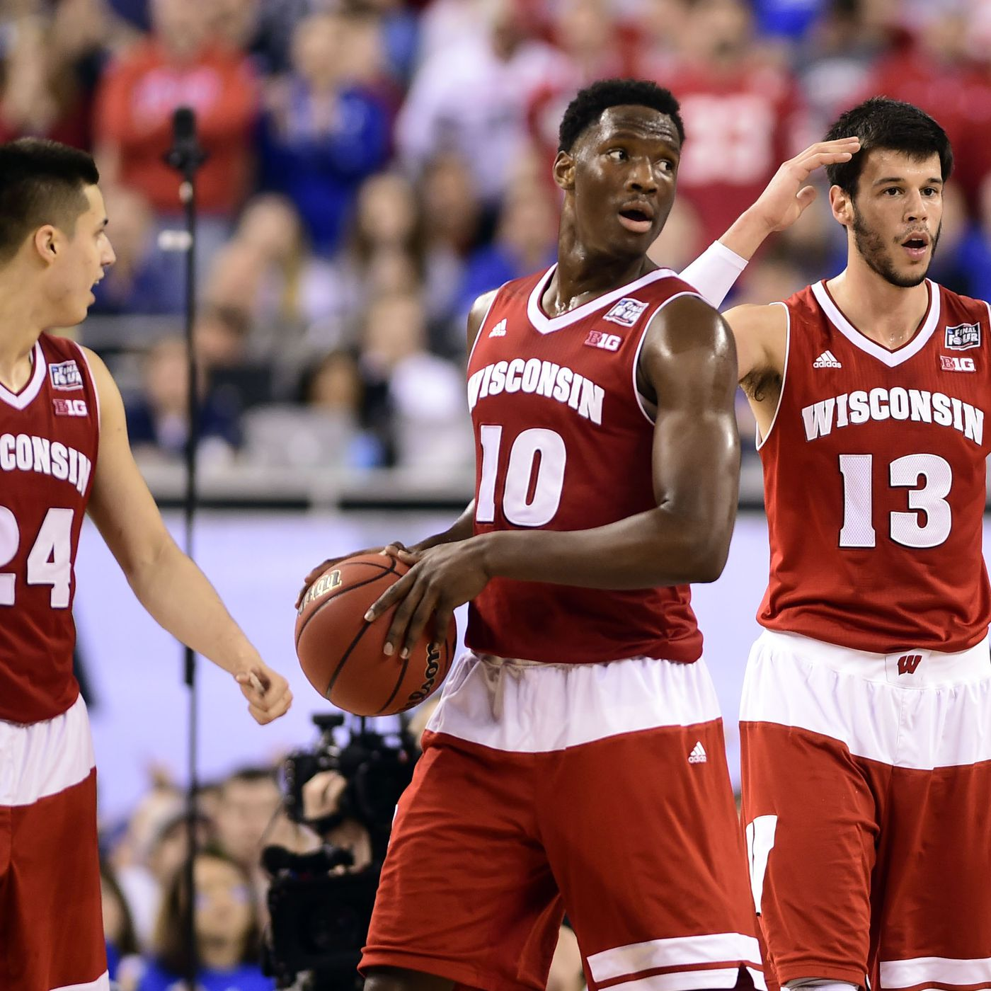 new product 7edf8 0cd4e Big Ten Basketball Podcast  Wisconsin Badgers 2015-16 Season Preview