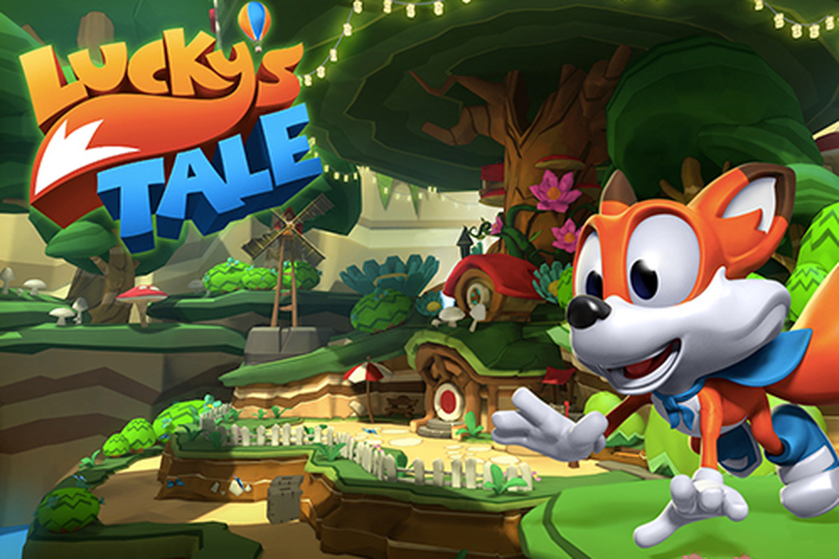 ab4f21f3399 Lucky s Tale is a sort of virtual reality Mario 64
