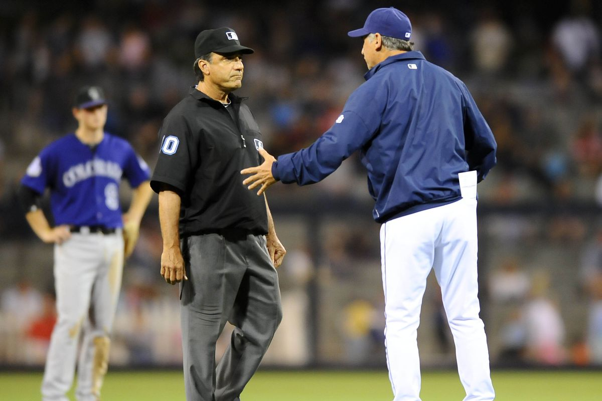 """""""I'm telling you, Blue, Holliday never touched the plate!"""""""