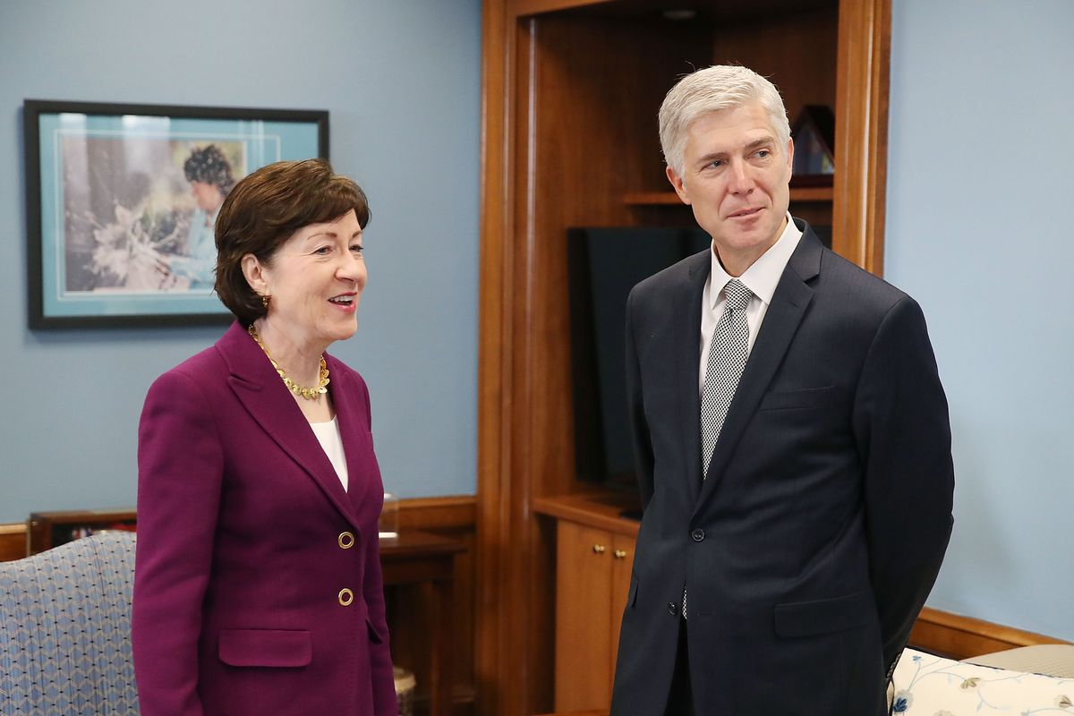GOP Sen. Susan Collins says she won't back anti-abortion SCOTUS nominee