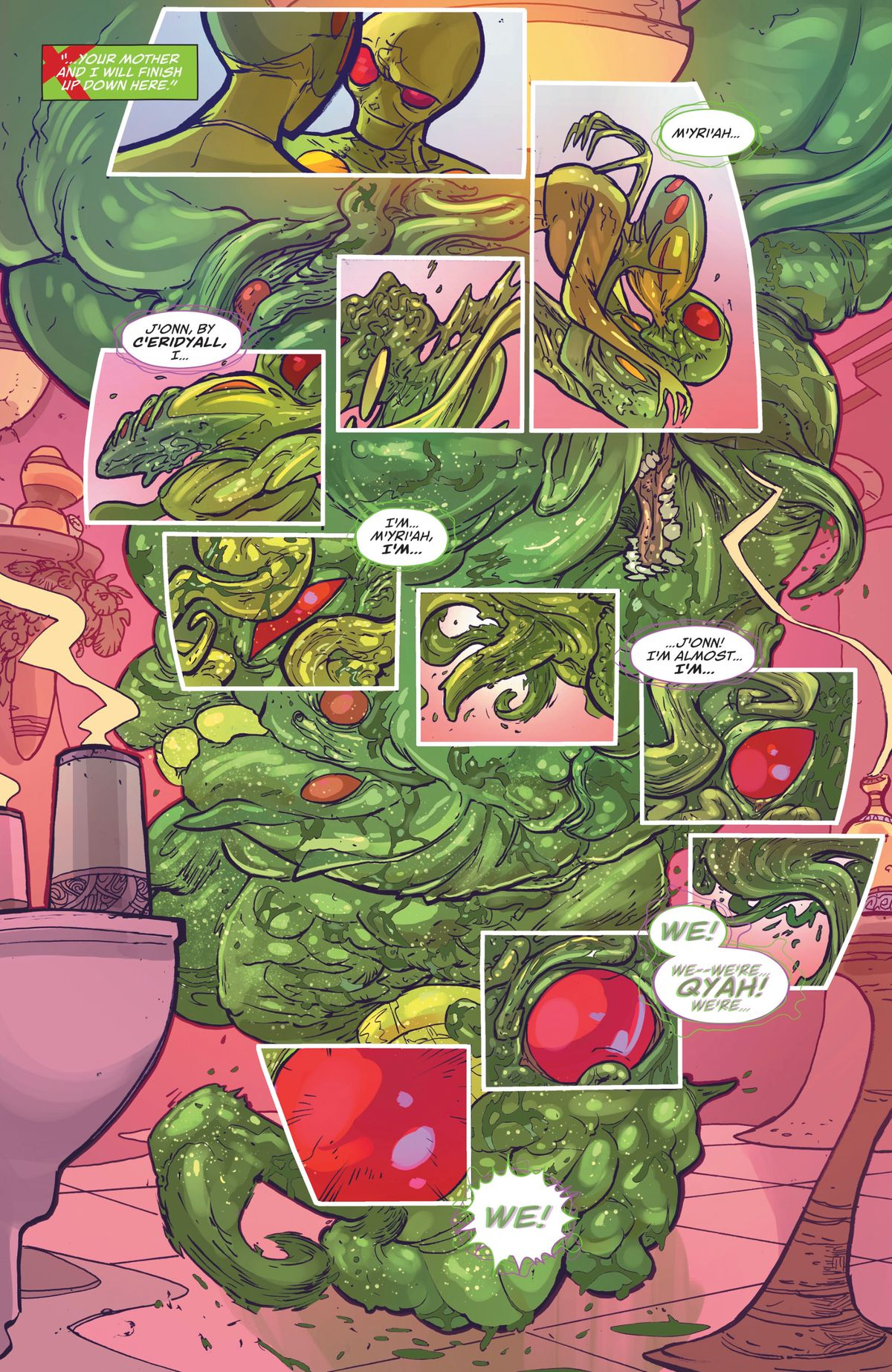 New Martian Manhunter Is Dc Comics Richest Sci-Fi Story -2963