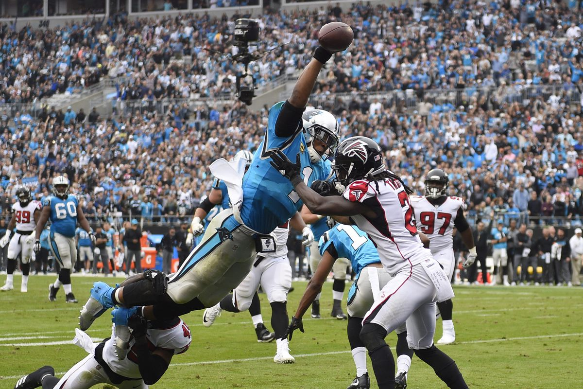Falcons vs Panthers Cam Newton just pared the Panthers to the