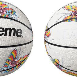 Supreme x Spalding® Basketball with Artwork by Mark Gonzalez for Supreme; Spring/Summer 2016
