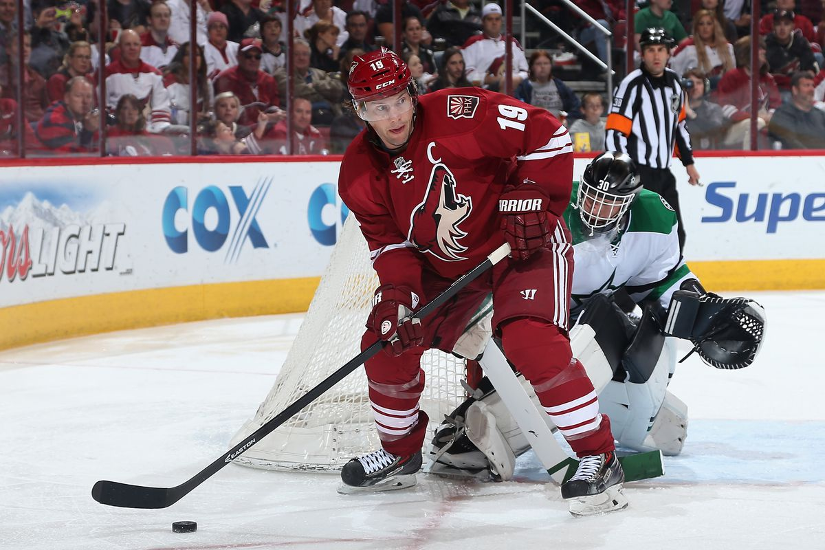 Shane Doan in his other, non-doctor profession