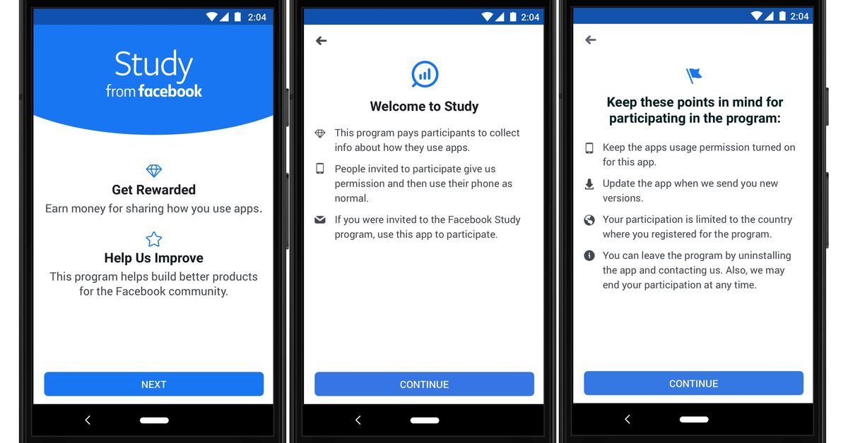 Facebook will pay you to let it track what you do on your phone