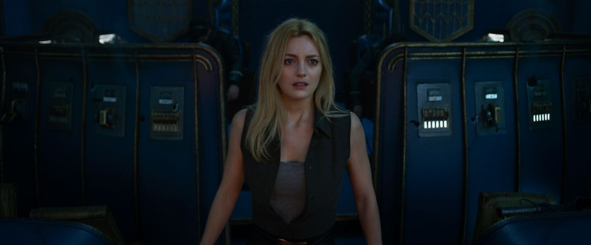 Leila George as Katherine Valentine in Mortal Engines