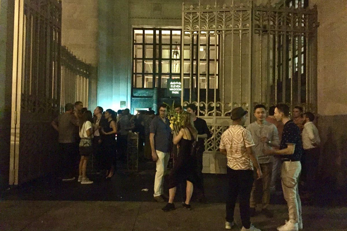 Eleven Madison Park's closing party