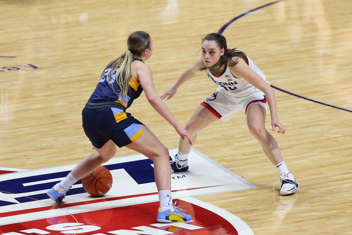 COLLEGE BASKETBALL: MAR 08 Big East Women's Basketball Tournament - Marquette v UConn