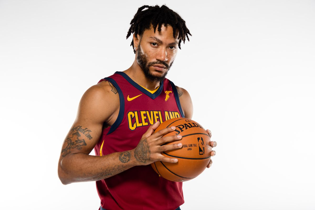 super popular d0a39 2a3d0 Derrick Rose says he was in a 'dark place', happy to be with ...