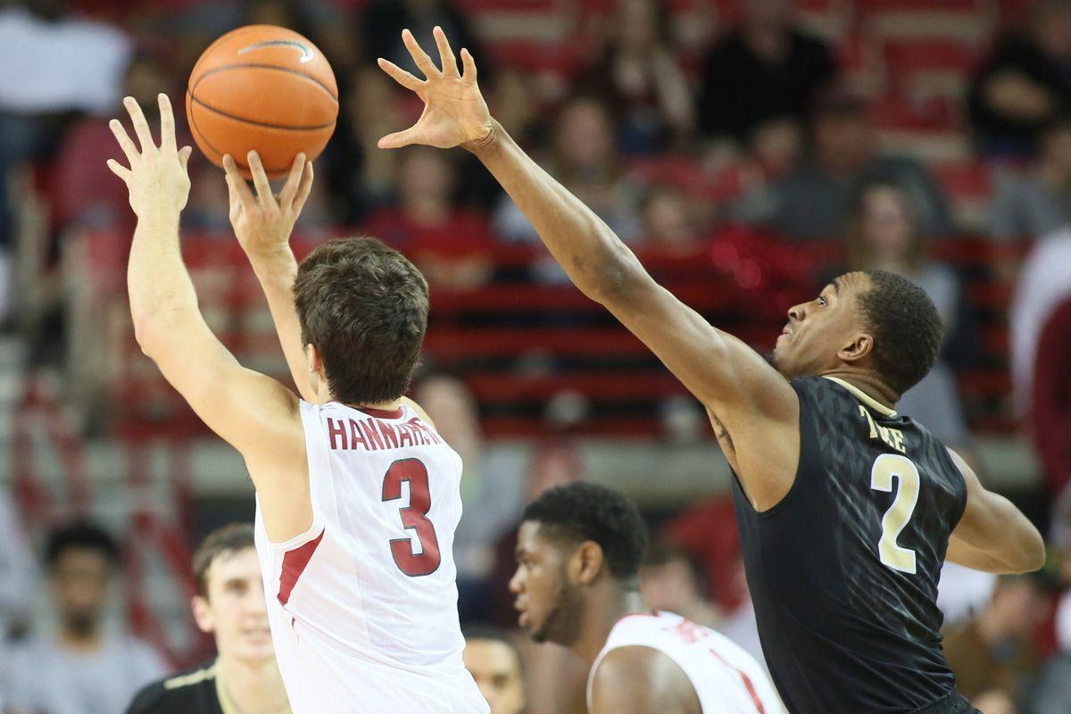 NCAA Basketball: Vanderbilt at Arkansas