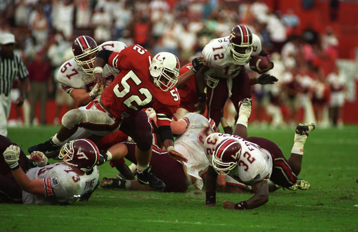 University Of Miami Hurricanes Football