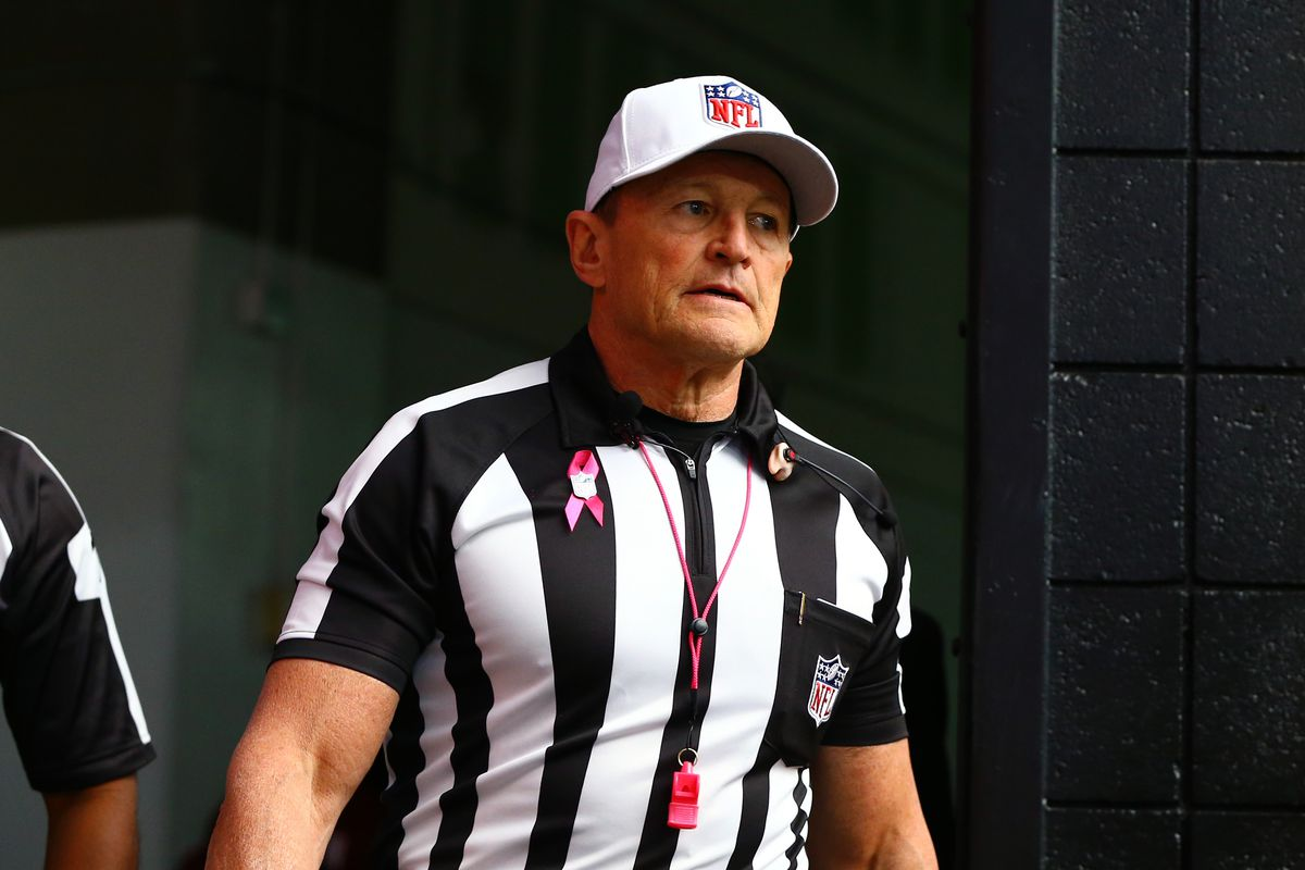 49ers Vikings Referees Ed Hochuli To Be Lead Official Niners Nation