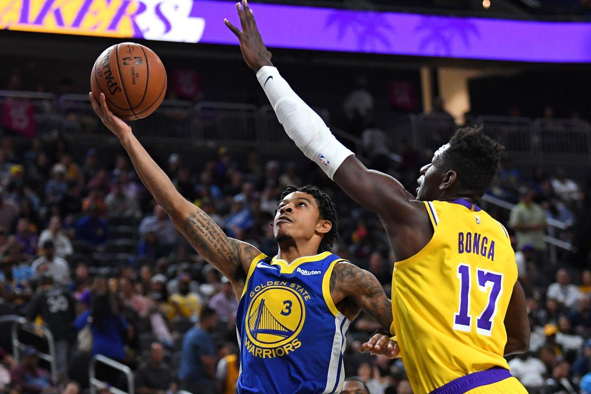 NBA: Preseason-Golden State Warriors at Los Angeles Lakers